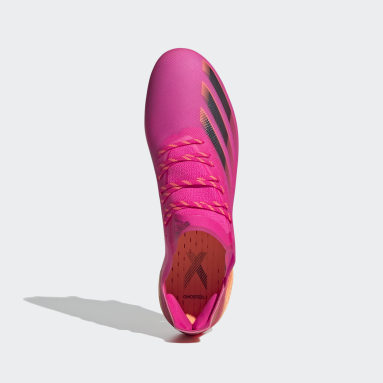 Football Pink X Ghosted.1 Soft Ground Boots