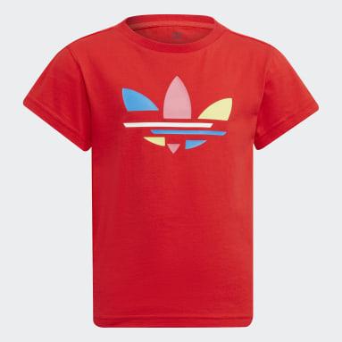 Børn Originals Rød Adicolor T-shirt