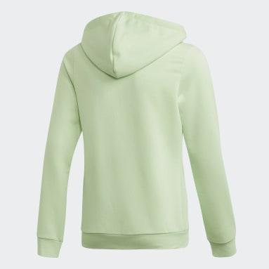Veste à capuche Linear Vert Filles Fitness Et Training