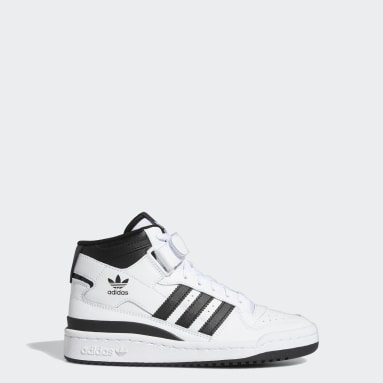 Kids Originals White Forum Mid Shoes