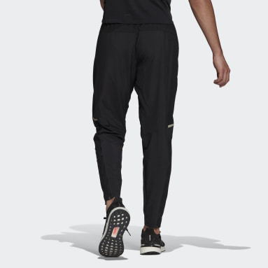 Men Running Black Own The Run Cooler Pants