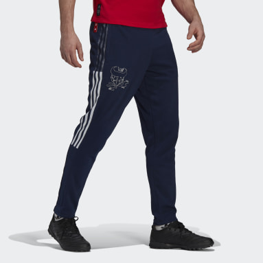 Men Football Blue Arsenal CNY Sweat Pants