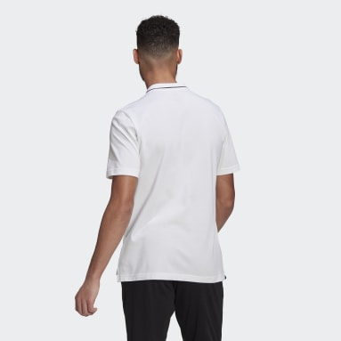 Polo AEROREADY Essentials Piqué Small Logo Blanc Hommes Sportswear