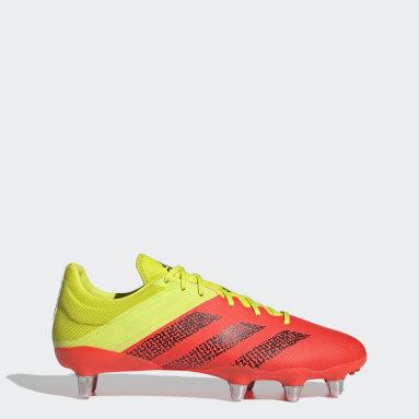 Rugby Yellow Kakari Elite Soft Ground Boots