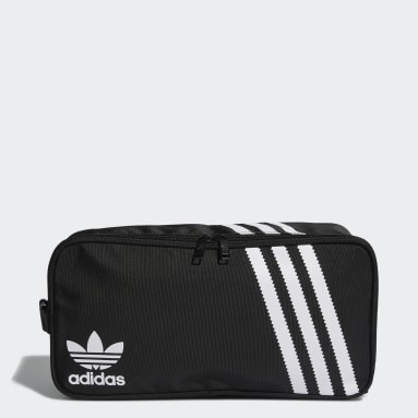 Originals Black 3-Stripes Shoe Bag