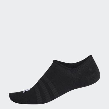 เทรนนิง สีดำ ถุงเท้าซ่อนขอบ