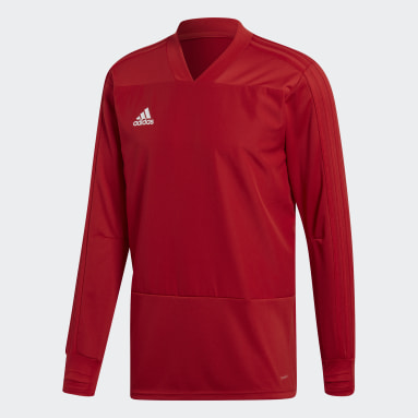 Men Gym & Training Red Condivo 18 Player Focus Training Top