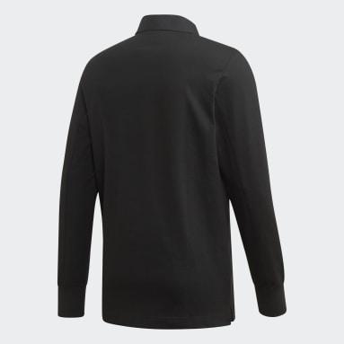 Camiseta de Rugby Gallery Negro Hombre Originals
