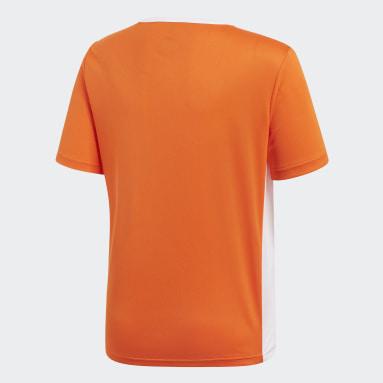 Jongens Fitness En Training Oranje Entrada Voetbalshirt