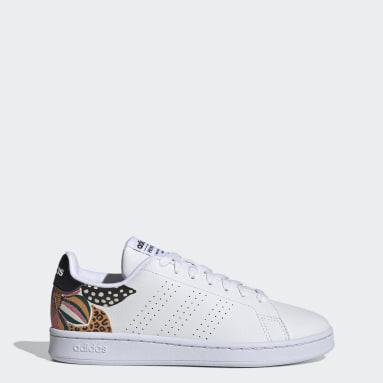 Women Tennis White Advantage Shoes