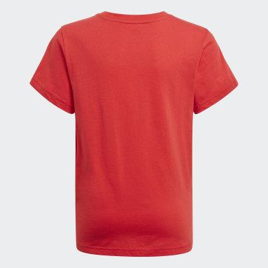 Camiseta Adicolor Graphic Rojo Niño Originals