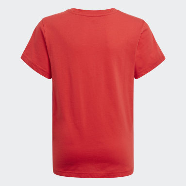 T-shirt Adicolor Graphic rouge Adolescents Originals