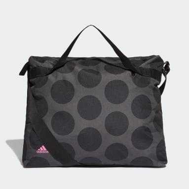 Women's Training Grey Polka-Dot Oversize Tote Bag