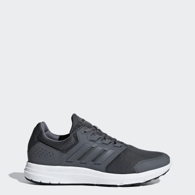 Men Running Grey Galaxy 4 Shoes