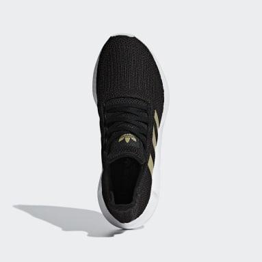 ผู้หญิง Originals สีดำ รองเท้า Swift Run