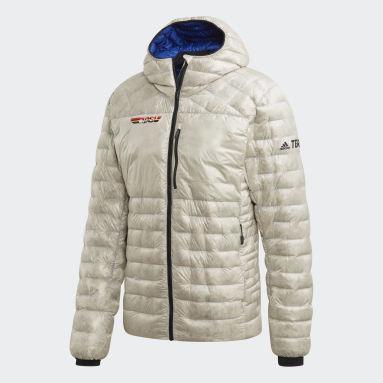 Men TERREX White Terrex DSV Climaheat Down Jacket