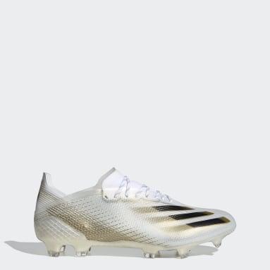 Calzado de Fútbol X Ghosted.1 Terreno Firme Blanco Hombre Fútbol