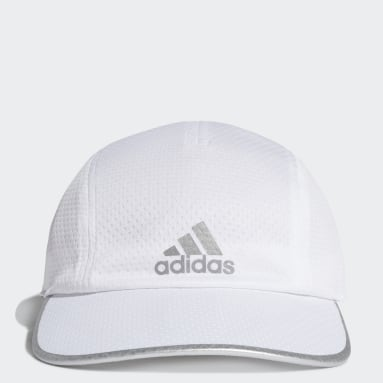Running White AEROREADY Runner Mesh Cap