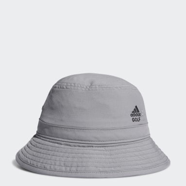 Youth 8-16 Years Golf Grey Juniors' Bucket Hat