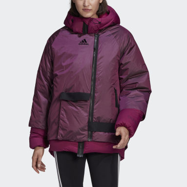 Women Lifestyle Burgundy COLD.RDY Down Jacket