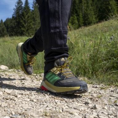 Děti TERREX zelená Boty Terrex Trailmaker RAIN.RDY Hiking