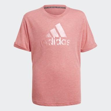 розовый Футболка Future Icons