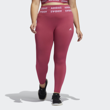 Tight Training Aeroknit 7/8 High-Rise (Grandes tailles) Rose Femmes Yoga