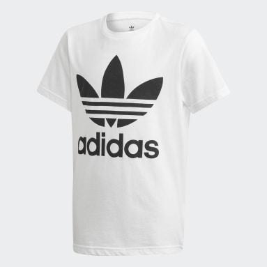 Camiseta Trefoil (UNISSEX) Branco Kids Originals
