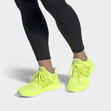 Running Yellow Ultraboost 1.0 DNA Shoes