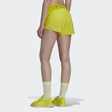 Women adidas by Stella McCartney Yellow adidas by Stella McCartney TruePace Multipurpose Shorts