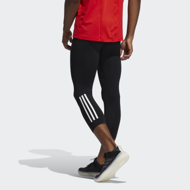 Tight Techfit 3/4 3-Stripes noir Hommes Yoga