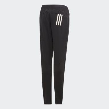 Youth 8-16 Years Gym & Training Black Woven Joggers