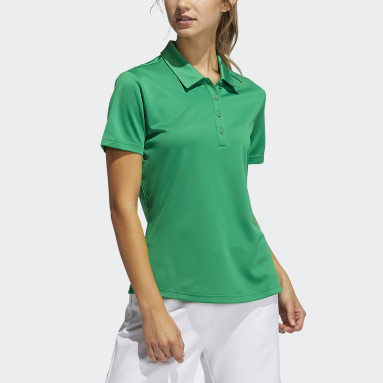 Dames Golf Groen Performance Primegreen Poloshirt