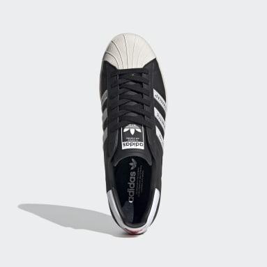 Originals Zwart Superstar 80s Human Made Schoenen