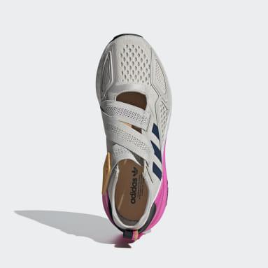 Women Originals Grey ZX 2K Boost Lite Shoes
