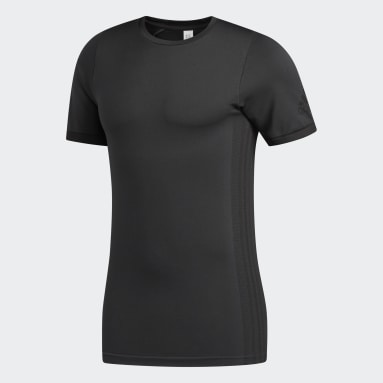 T-shirt FreeLift Primeknit FLW Nero Uomo Fitness & Training