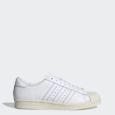 Sapatos Superstar 80s Branco Originals