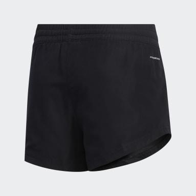 Girls Yoga Black Shorts