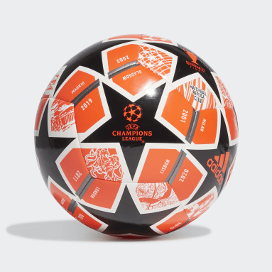 Men Football Orange Finale 21 20th Anniversary UCL Club Ball