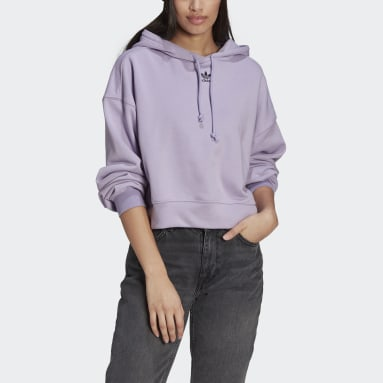LOUNGEWEAR Adicolor Essentials Hoodie Fioletowy