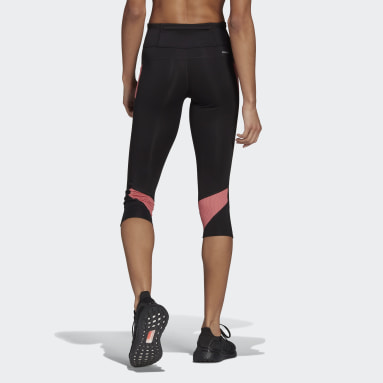 Women Running Black Own the Run 3/4 Tights