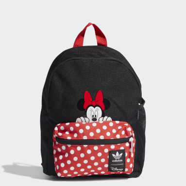 Infant Originals Red Minnie Backpack