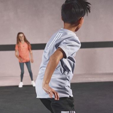 Kids Gym & Training Grey HEAT.RDY Tee
