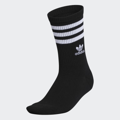 Women's Originals Black Recycled Single Crew Socks