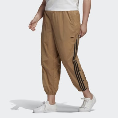 Women Originals Brown R.Y.V. Track Pants (Plus Size)