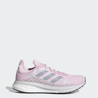 Women Running Pink SolarGlide ST Shoes