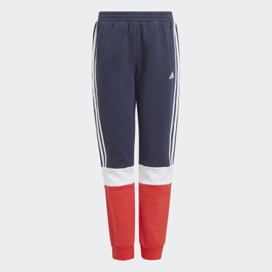 Boys Sportswear Blue adidas Essentials Colorblock Pants