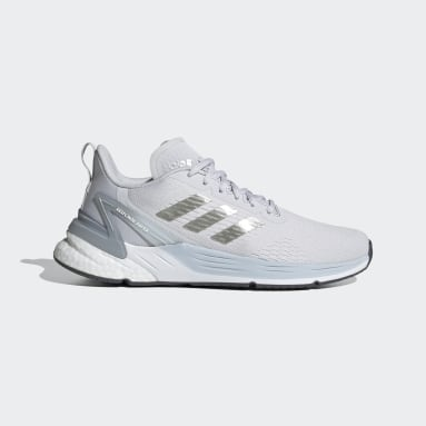 Women Running Grey Response Super Shoes