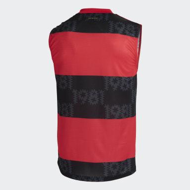 Camisa Sem Mangas 1 CR Flamengo 21/22 Vermelho Homem Futebol