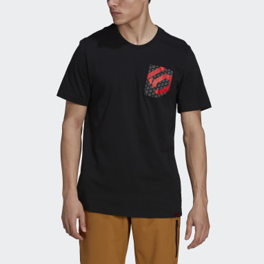 Camiseta Five Ten Brand of the Brave Negro Hombre Five Ten